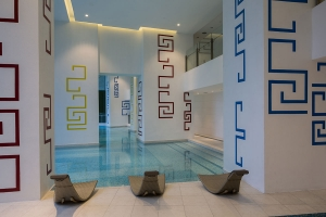 pool area at milano residences