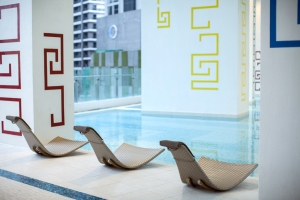 Pool Area at The Milano Residences