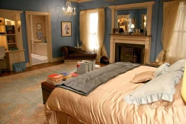 bedroom design inspiration from gossip girl